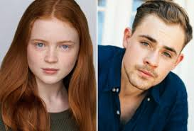 Billy (Dacre Montgomery) and Max (Sadie Sink)